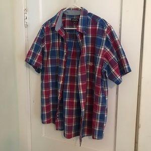 Men's Chaps button down shirt sz large